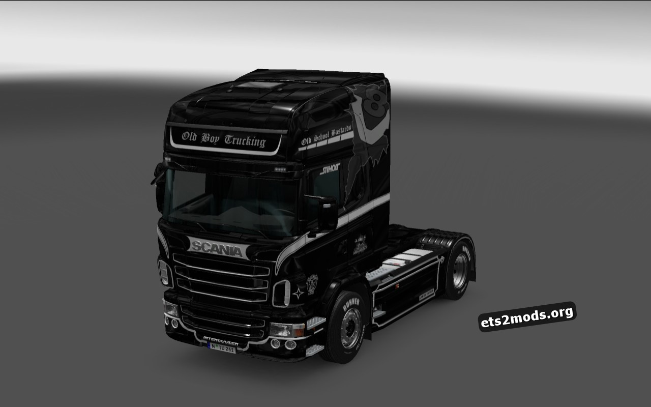 Old School Bastards Skin for Scania RJL