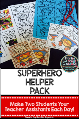 These simple superhero decor ideas, resources, and craft projects will help transform your primary classroom into a learning space your primary grade students will love!