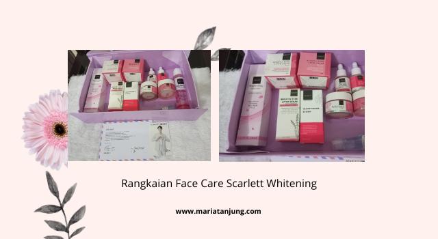 Rangkaian Face Care Scarlett Whitening