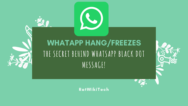 The secret of the black message from WhatsApp to millions of people to stop the program forever