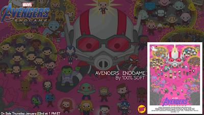 Avengers: Endgame Snapped Variant Giclee Print by 100% Soft x Grey Matter Art