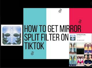 Mirror filter tiktok | How to Get symmetrical filter tiktok