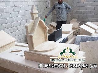 Batu Nisan Marmer Putih