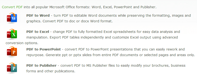 Convert Your Scanned or Native PDF for Free Online