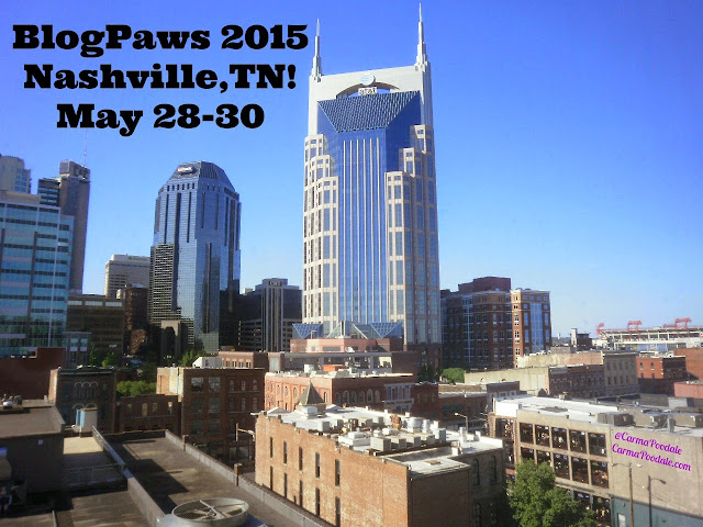 Blogpaws bloggers will be in Nashville Tenn.