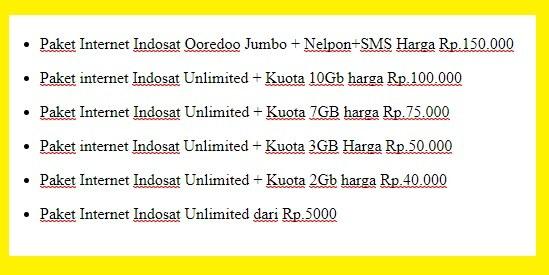 Kebutuhan akan internet dalam kehidupan sehari hari tak bisa dipungkiri lagi bahwa penggu Cara Cek Sisa Kuota Internet Indosat Ooredoo dan Daftar Harga Terbaru Paket Internet