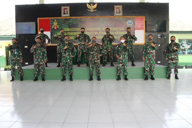 KodimKaranganyar – TNI Harus Bisa Mengambil Peran Dalam Penanggulangan Bencana Alam