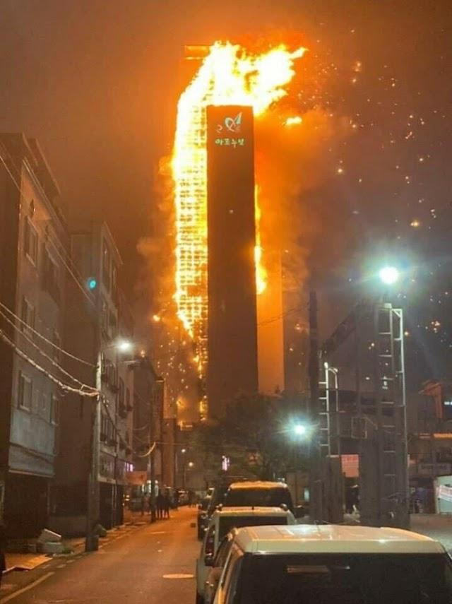 Hàn Quốc: Cháy lớn ở Ulsan, chưa rõ thương vong