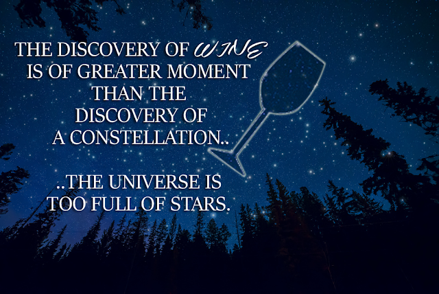 Wine Quote - The discovery of wine