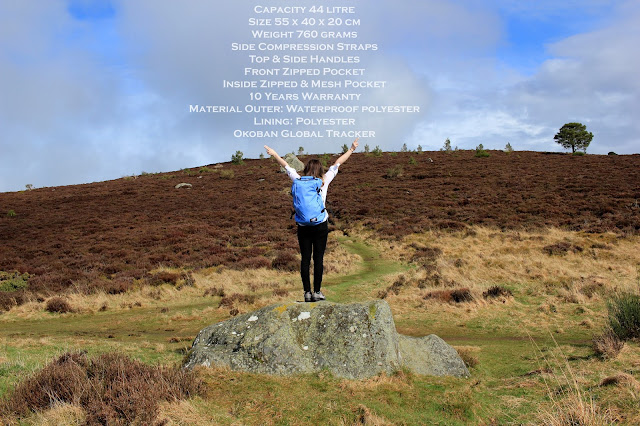 Best UK Travel Blogger Scotland Cabin Zero Backpack