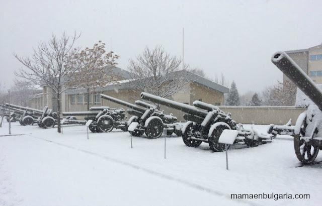 Museo Militar de Sofía invierno
