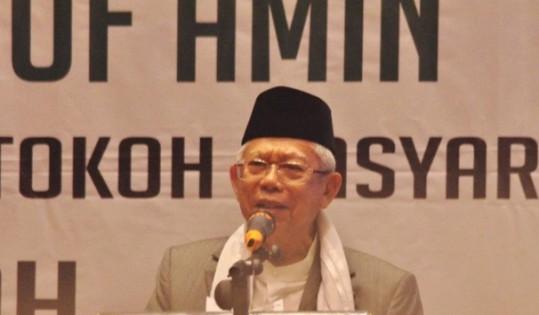 KH. Ma'ruf Amin : Mari Bersama, Membangun Indonesia Dengan Damai