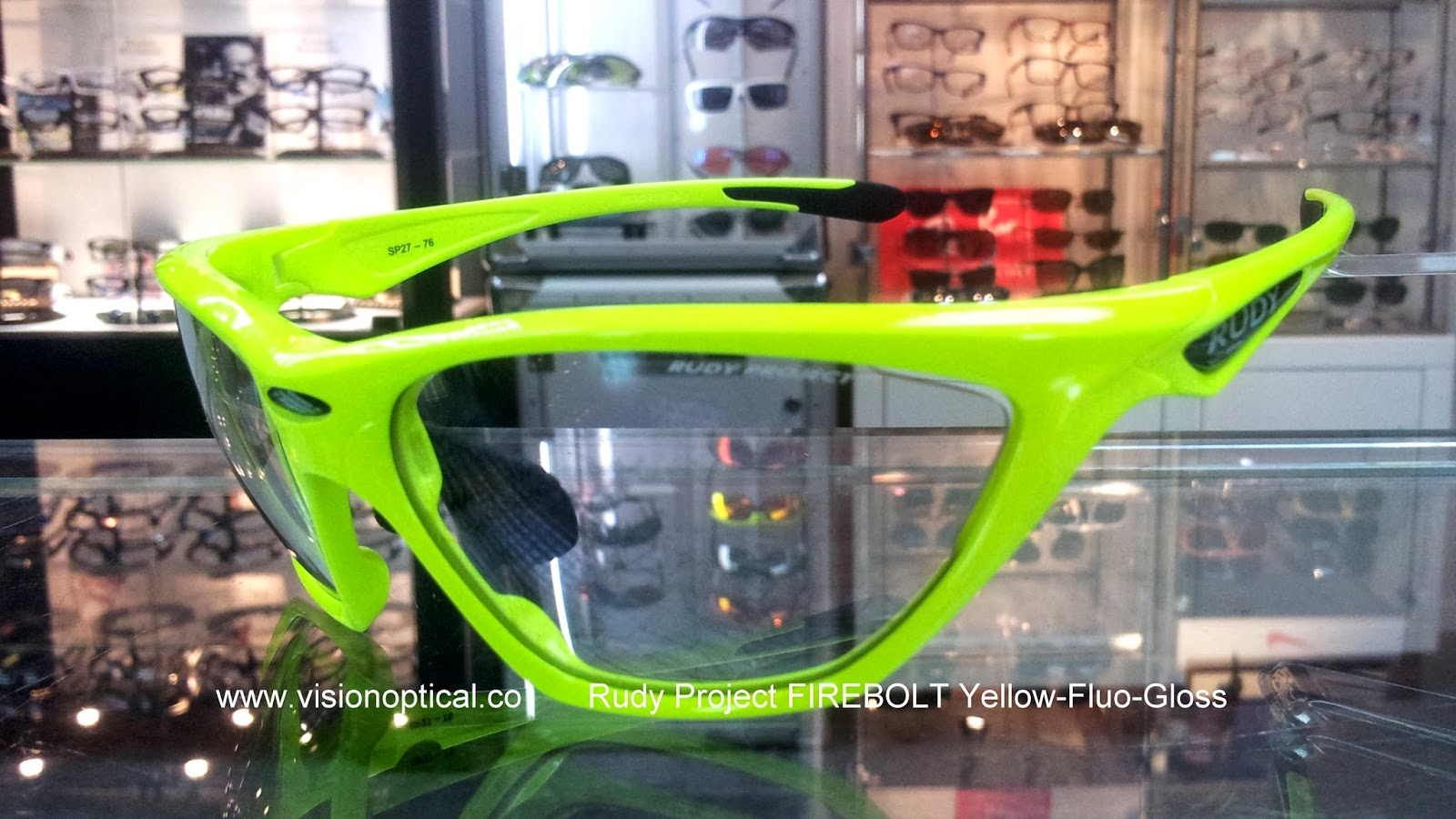 Rudy Project Firebolt Yellow Fluo Photoclear 太陽眼鏡
