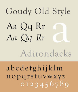 Goudy Old Style CV font