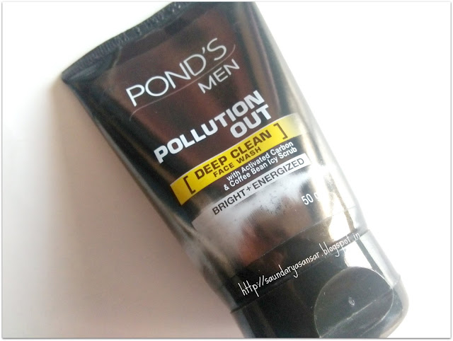 Ponds MEN Pollution Out Deep Clean Face Wash Review