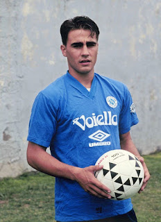 Cannavaro in his days as a young professional with Napoli