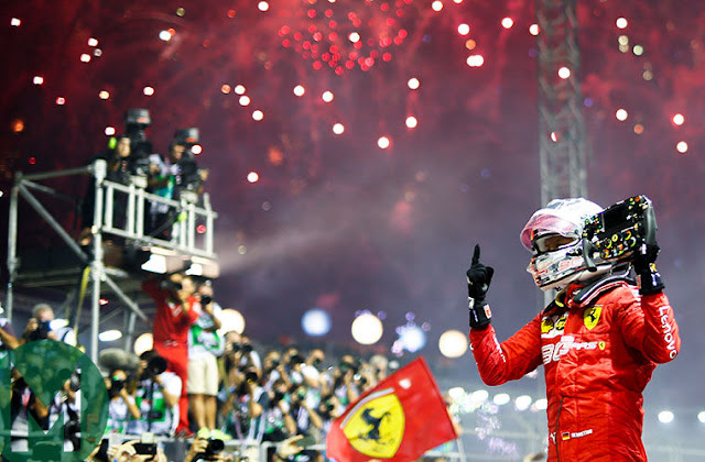 Formula 1 Singapore Airlines Singapore Grand Prix 2019.09.22