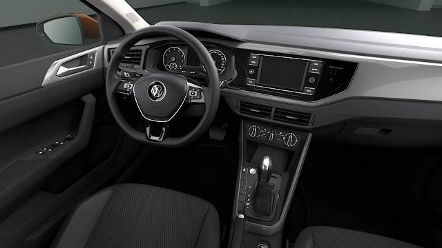 VW Polo 2018 Comfortline 200 TSI Automático
