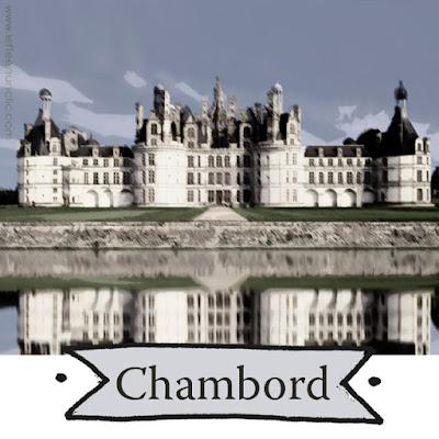le château de Chambord, les châteaux de la Loire, FLE, le FLE en un 'clic'