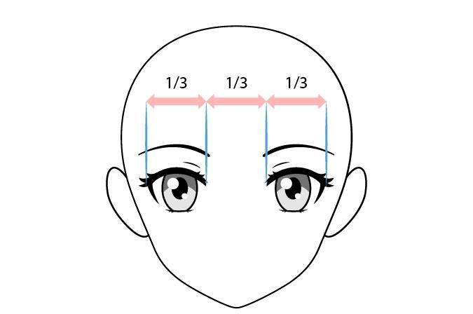 Spasi mata anime wanita