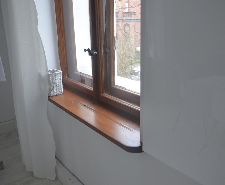 odnowione okno drewniane