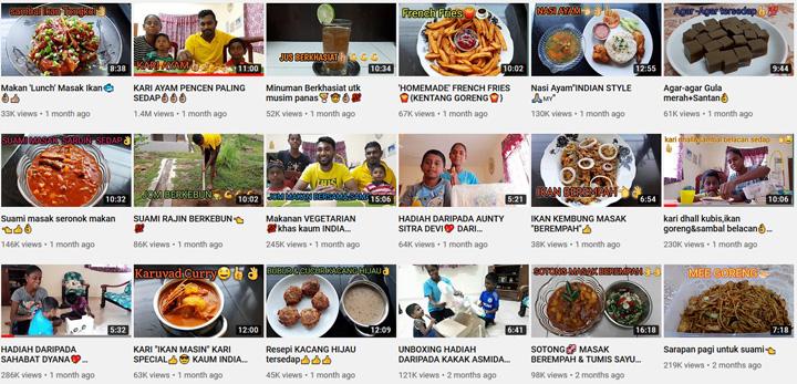 Bagaimana Sugu Pavithra dapat duit Youtube