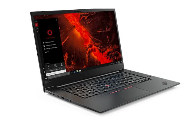 لينوفو تكشف عن لابتوب ThinkPad X1 Extreme بمواصفات كبيرة