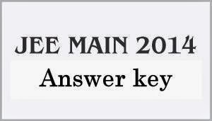 JEE Main 2014 Answer key coming today