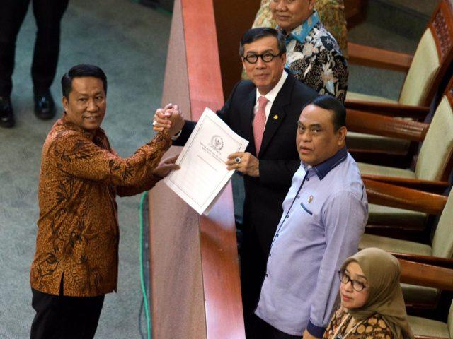 Kembali jadi Menteri, Besok Yasonna Ajukan Pengunduran Diri ke DPR