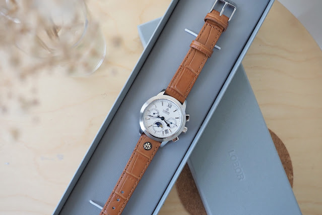 LOBOR Watches CELLINI DES VOEUX BROWN malaysian lifestyle blogger cestlajez