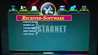 StartNet 1507g 1g 8m New Software With Go Sat plus Option