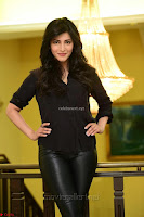 Shruti Haasan Looks Stunning trendy cool in Black relaxed Shirt and Tight Leather Pants ~ .com Exclusive Pics 052.jpg