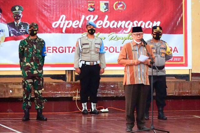 Bupati apresiasi sinergitas Polri, TNI dan Pemda tangani pandemi
