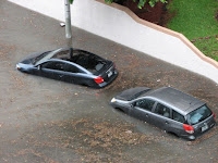 Flooding in South Beach, Florida. (Credit: mazstrz/flickr) Click to Enlarge.