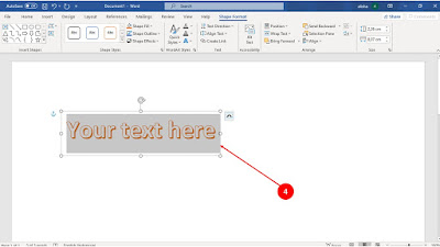 word art, microsoft word, tutorial microsoft word,