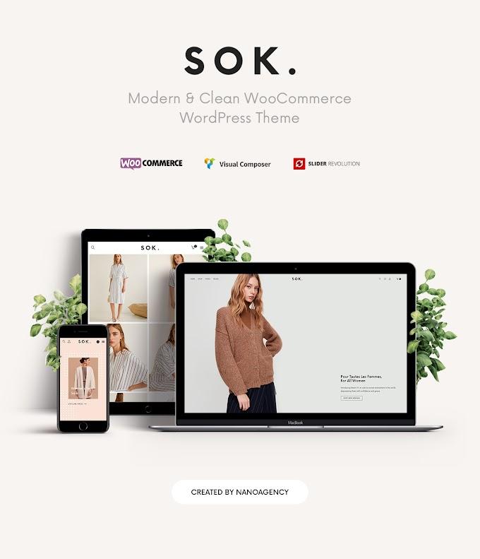 Sok best Wordpress theme review