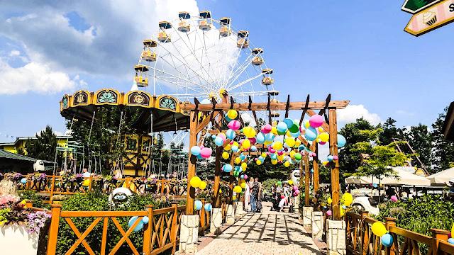 Rabkoland - park rozrywki dla małych dzieci
