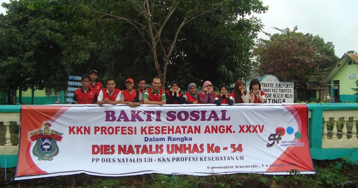 Arfandi Sade Laporan Kuliah Kerja Nyata Kkn Desa Kayuloe Barat Jenneponto
