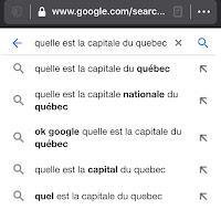 Quelle est la capitale du Québec