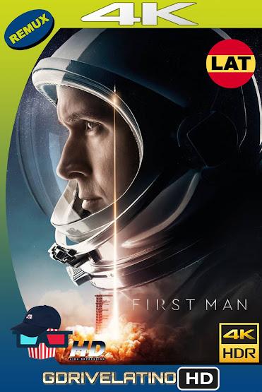 El Primer Hombre en la Luna (2018) IMAX BDRemux 4K HDR Latino-Ingles MKV