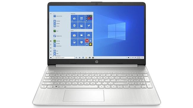 HP 15 15s-Eq0500Au laptop under 50K in India.