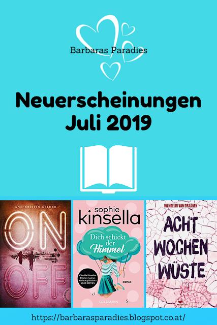 Neuerscheinungen im Juli 2019 #2
