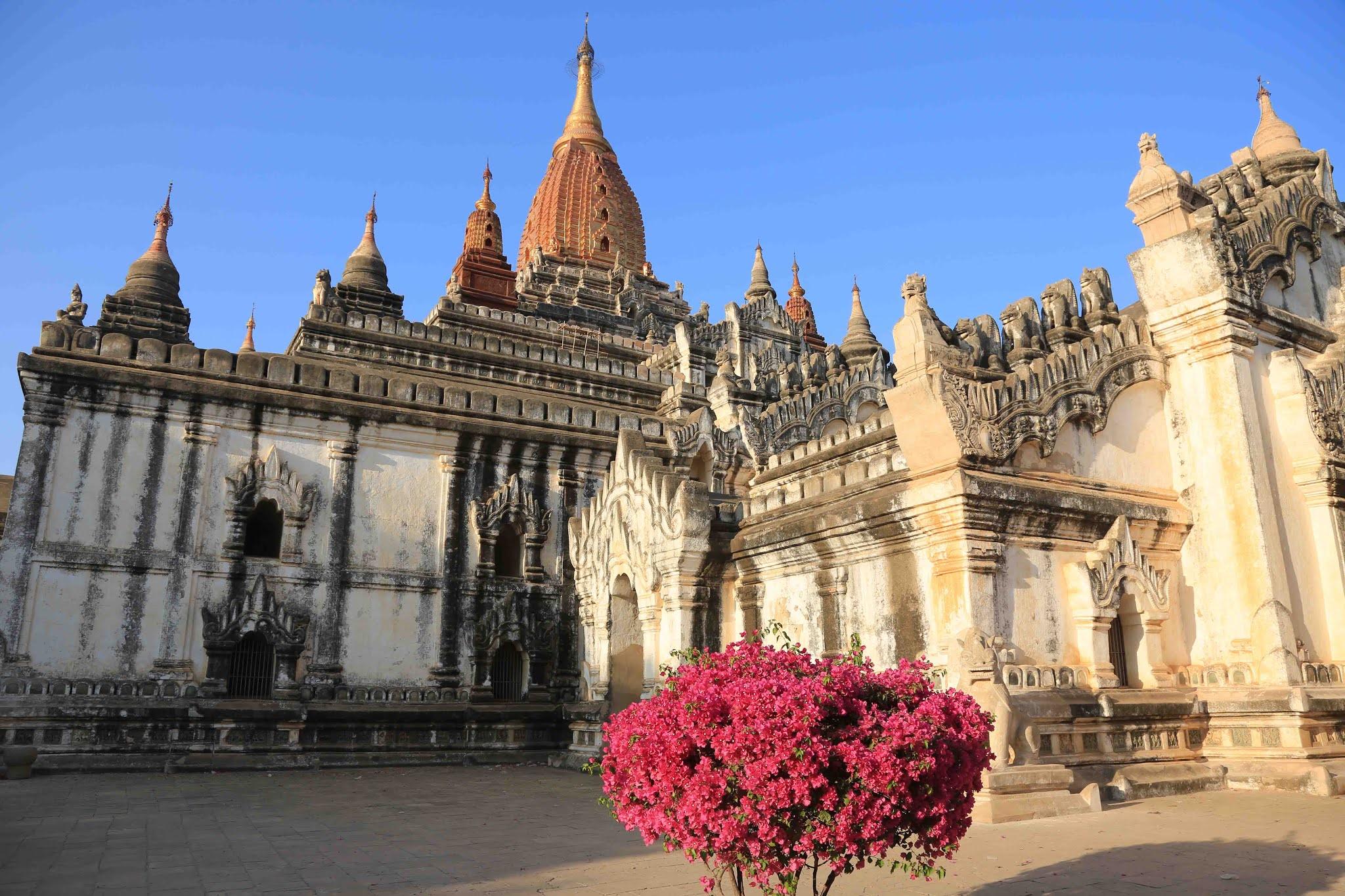 Храм Ананды, Баган, Мьянма