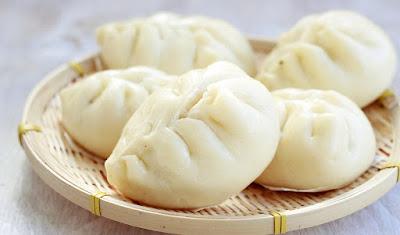 Bánh bao nhân nấm
