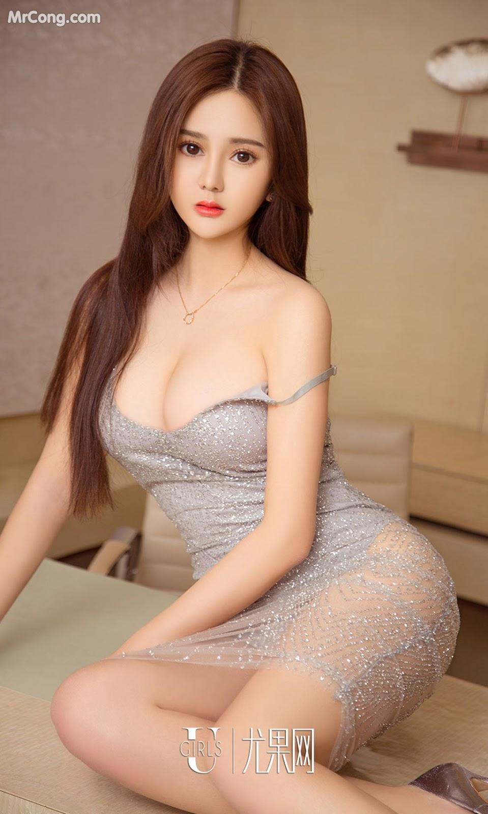 Image UGIRLS-Ai-You-Wu-App-No.1012-Zhang-Duo-Duo-MrCong.com-008 in post UGIRLS – Ai You Wu App No.1012: Người mẫu Zhang Duo Duo (张多多) (40 ảnh)