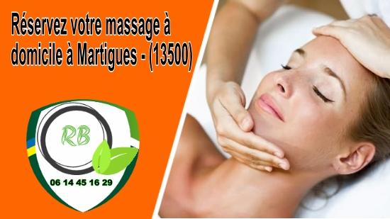 Réservez votre massage à domicile à Martigues - (13500);