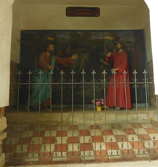 Stacja 17 - Zdrada Judasza.