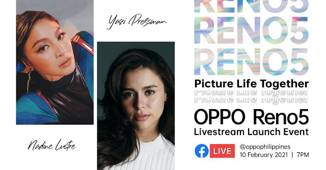 OPPO Reno5 is set to launch live on February 10:PictureLifeTogether with the newest Reno smartphone