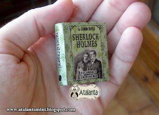 Adventures Sherlock Holmes - A Scandal in Bohemia miniature book