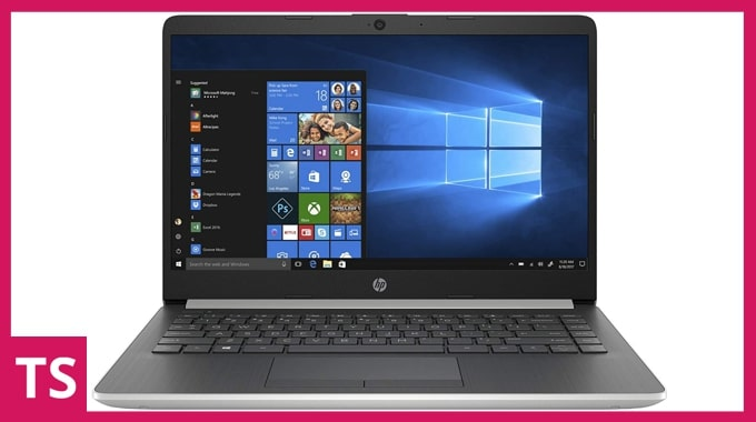HP 14 DK0093AU laptop under 50000 in India for work.